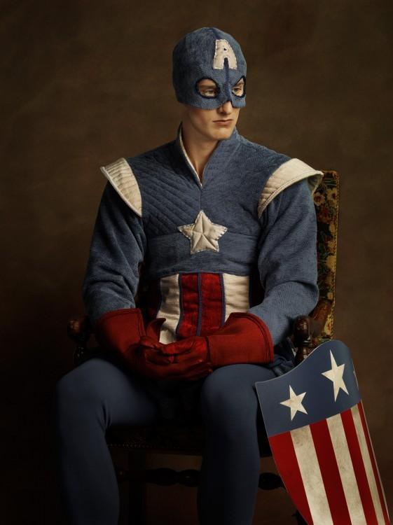 Capitán América Siglo XVI