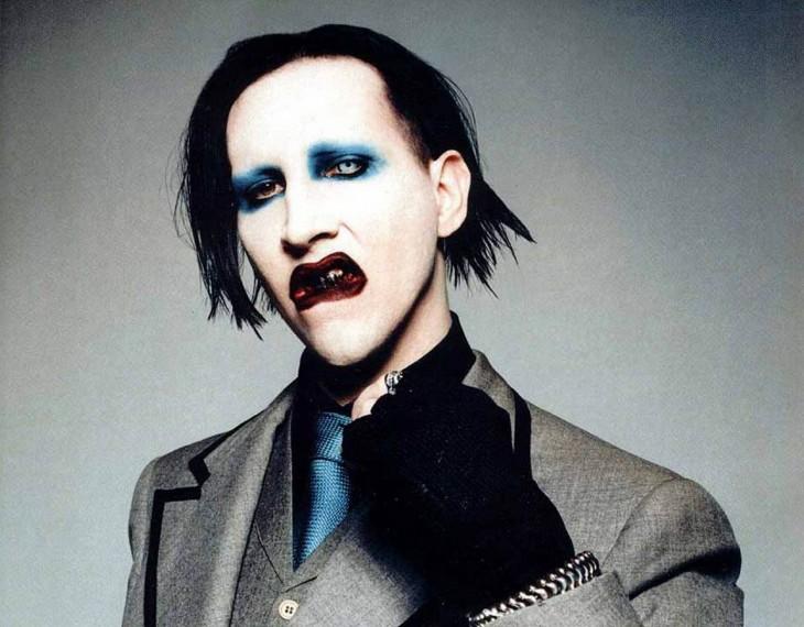 Músicos Famosos Cuando No Están En El Escenario Marilyn-Manson