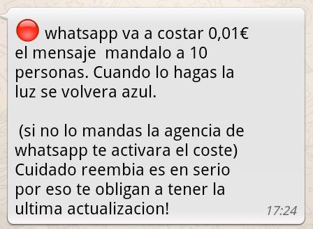 Las típicas 10 personas en los grupos de WhatsApp