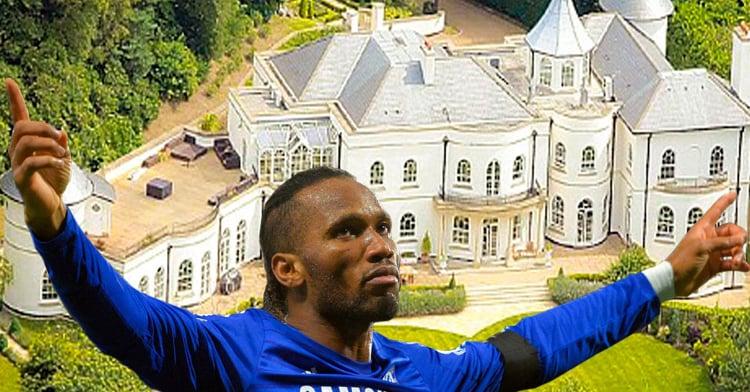 Lista de las 10 de casas m s caras de los futbolistas for Las mejores casas de los famosos