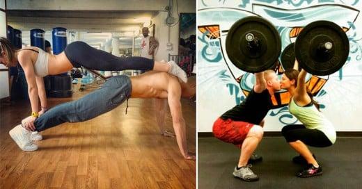 Los 20 ejercicios más creativos que puedes hacer con tu novia