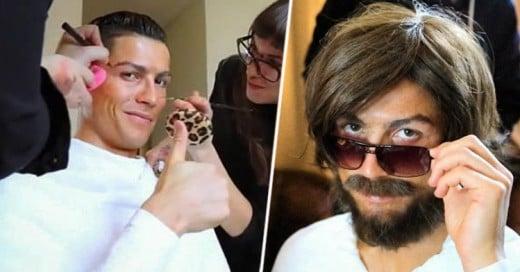 Esto es lo que sucede cuando Cristiano Ronaldo se disfraza de vagabundo