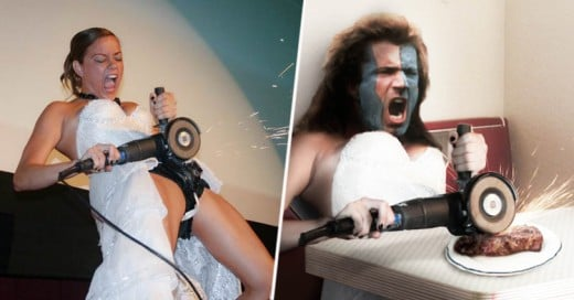 Novia rompió su cinturón de castidad en su boda y así reaccionó Internet