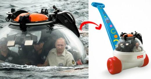 20 fotos con las que Internet trollea a Putin en batalla de Photoshop