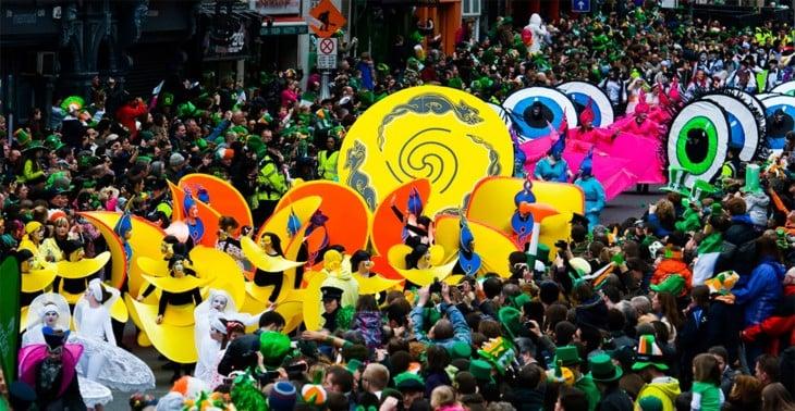 dia de san patricio irlanda carnaval