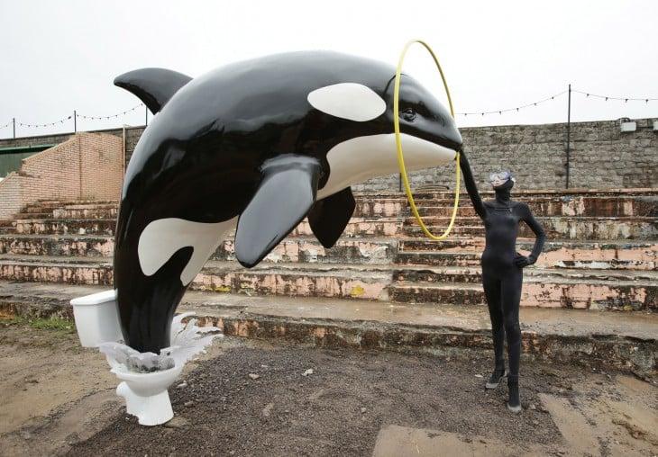 dismaland orca