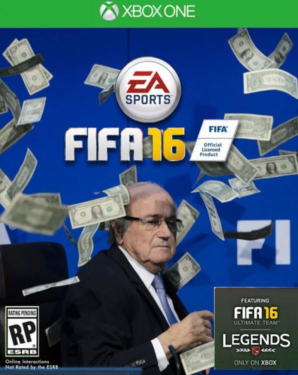 FIFA 16 blatter en portada