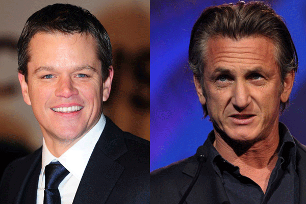 20 Cosas que probablemente no sabías de 'El club de la pelea' Sean Penn y Matt Damon
