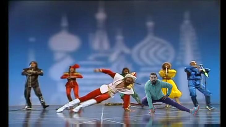 Así photoshopearon a Shia LaBeouf baile ruso