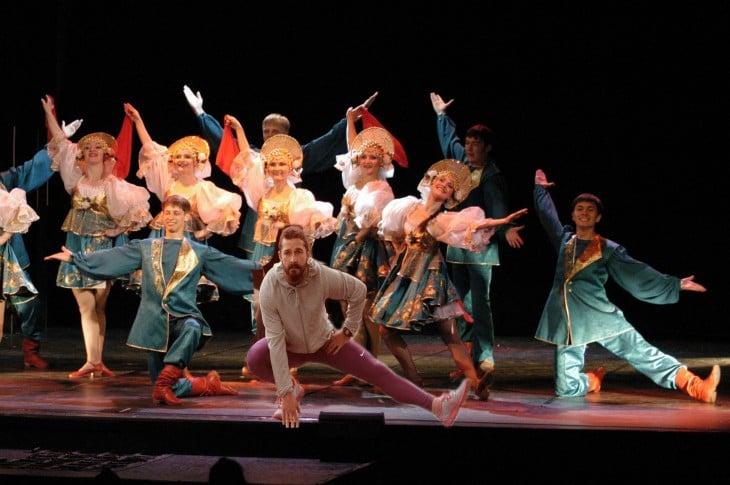 Así photoshopearon a Shia LaBeouf ballet ruso