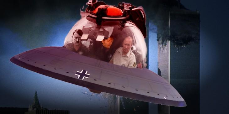 Internet trollea a Putin dentro de su batiscafo con una batalla de Photoshop hitler