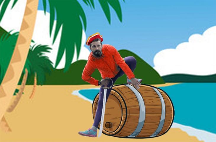 Así photoshopearon a Shia LaBeouf pirata