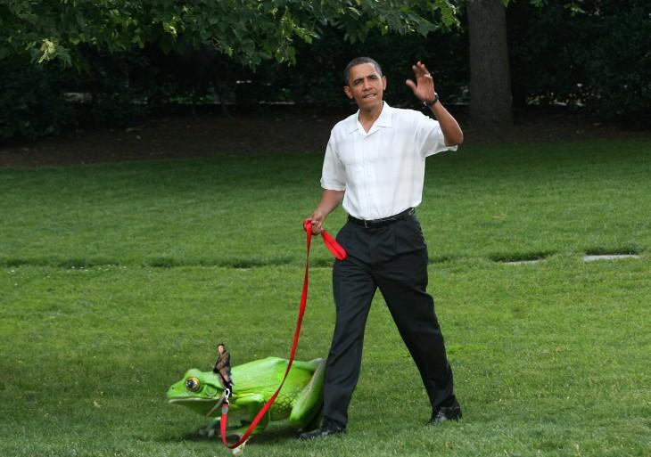 Internet trollea a Putin dentro de su batiscafo con una batalla de Photoshop obama