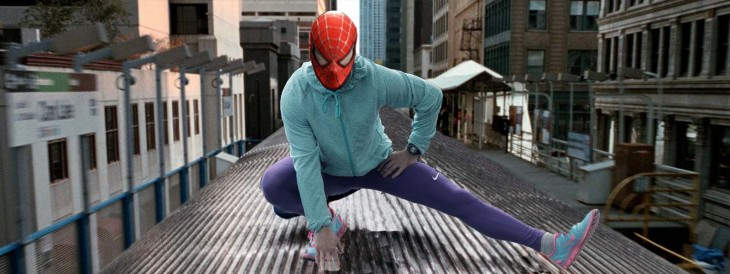 Así photoshopearon a Shia LaBeouf spiderman