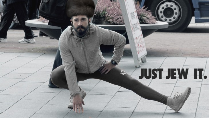Así photoshopearon a Shia LaBeouf judio