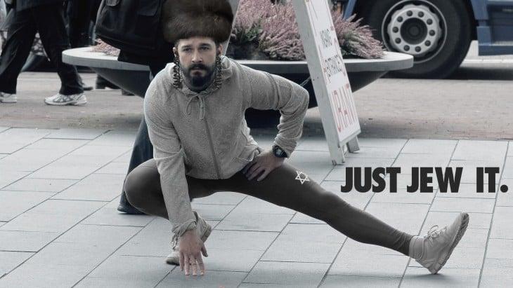 Así photoshopearon a Shia LaBeouf judio