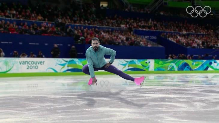 Así photoshopearon a Shia LaBeouf sobre hielo