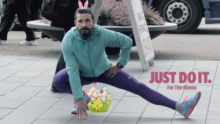 Así photoshopearon a Shia LaBeouf conejo de pascua