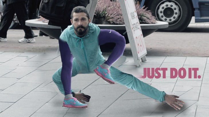 Así photoshopearon a Shia LaBeouf manos pies