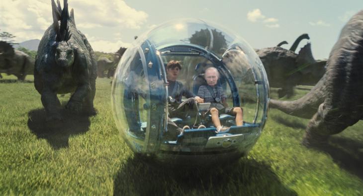 Internet trollea a Putin dentro de su batiscafo con una batalla de Photoshop jurasic park