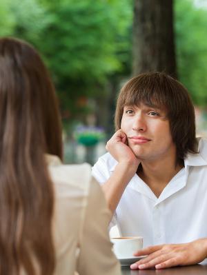 negatividad en una cita