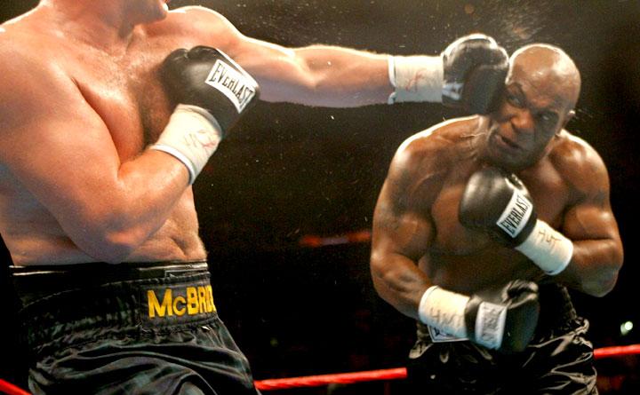 tyson vs mcbride ultima pelea de mike
