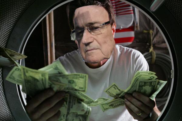 walter blatter lavando dinero