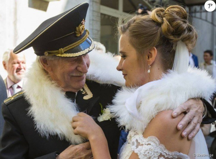 Ivan Krasko y Natalia Shevel en su boda