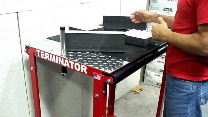 maquina para lucha de vencidas