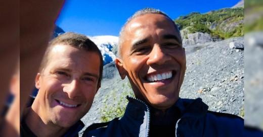 Barack Obama se una a Bear Grylls para aventura en Alaska!