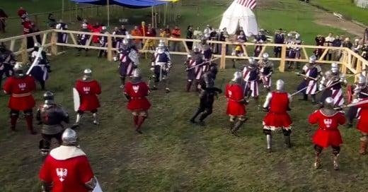 El Combate Medieval se ha convertido en un deporte extremo