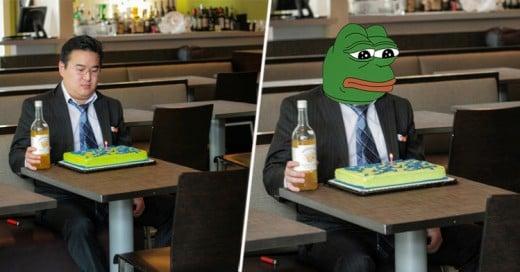 Festejó su cumpleaños completamente solo e Internet hace de las suyas!