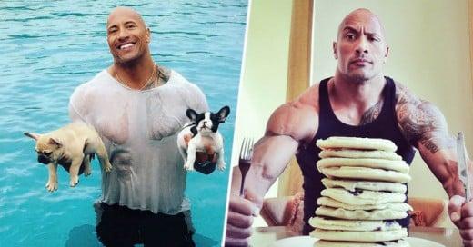 Por qué el Instagram de la roca es el mejor de entre TODOS los famosos?