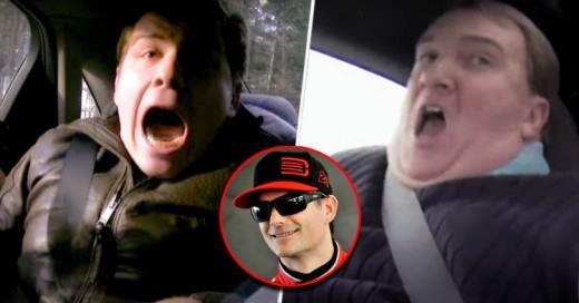 Jeff Gordon, piloto de Nascar, trollea a vendedor de autos y a periodista