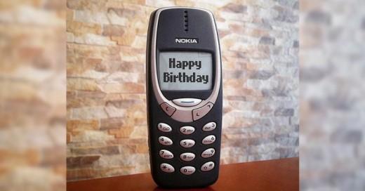 ¡Feliz cumpleaños al Nokia 3310!, el teléfono INDESTRUCTIBLE