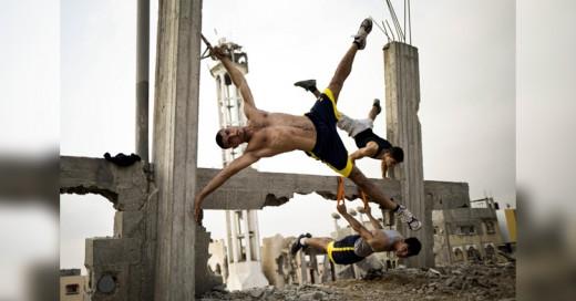 Urban bodybuilding es la nueva tendencia en Gaza