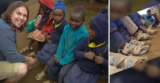 ¡Sorprendente invento!: Zapatos que cambian de talla para los niños pobres