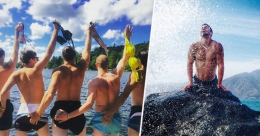 20 fotos en las que los hombres imitan las fotos más ridículas de las mujeres en Instagram