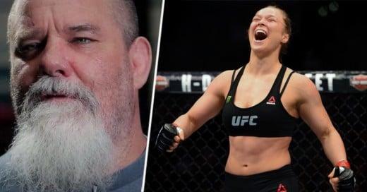 Expeleador de UFC de 50 años, pagaría a Ronda Rousey UN MILLÓN de dólares si logra vencerlo