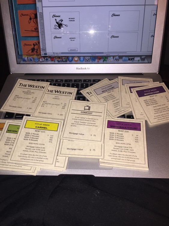 cartas de monopoly para pedir matrimonio
