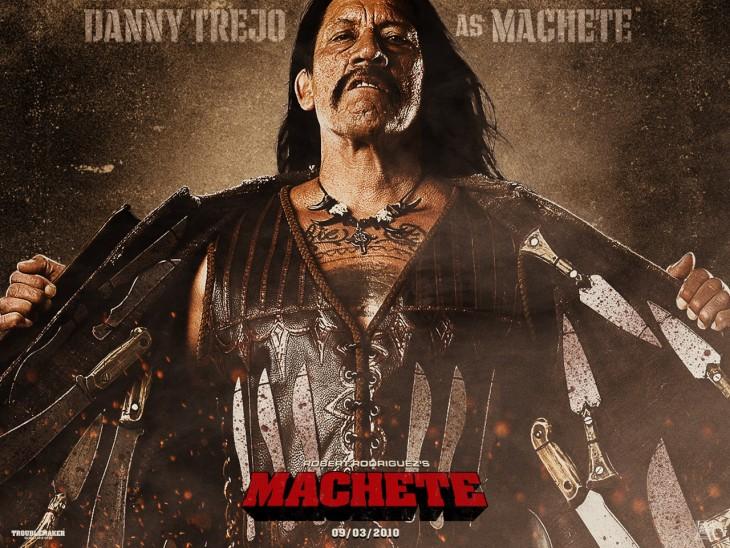 Danny Trejo cartel película Machete