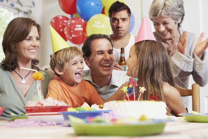 photobomber en una fiesta infantil