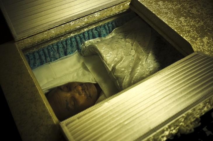 funeral de un miembro yakuza
