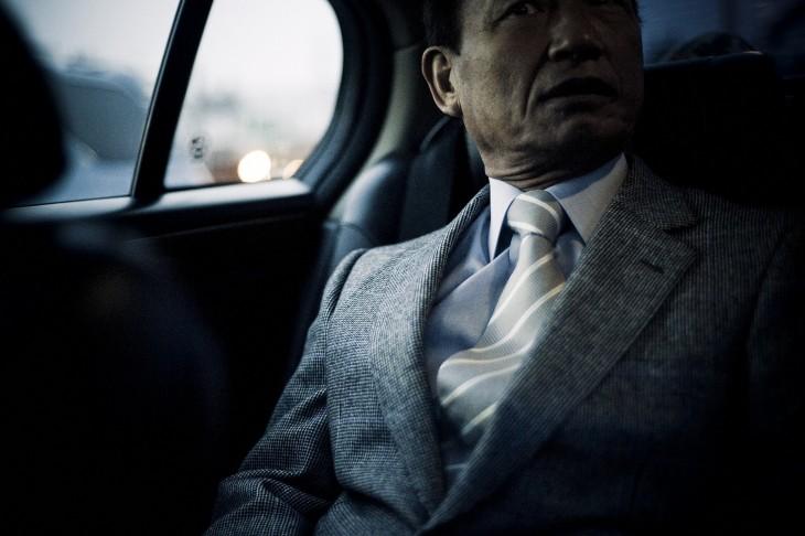 un jefe de los yakuza
