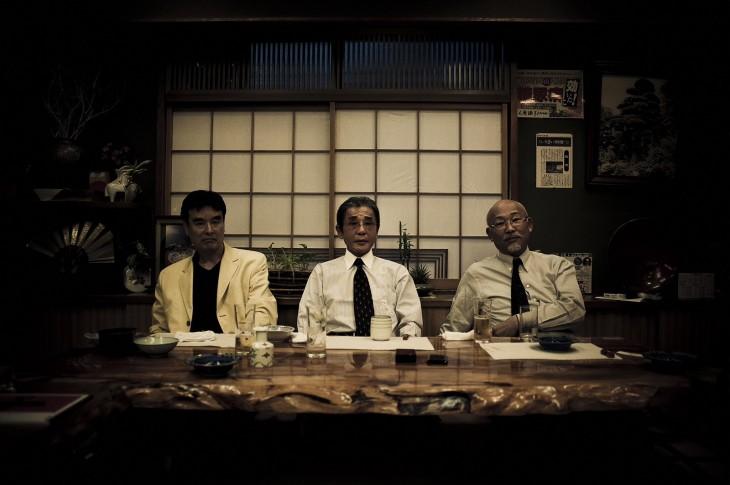 Los tres jefes de los yakuza