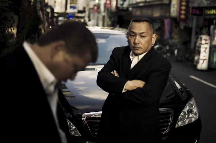 guardespaldas de los miembros yakuza