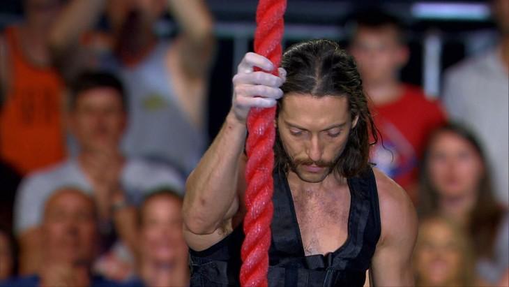 Isaac Caldiero ganó el concurso de American Ninja Warrior