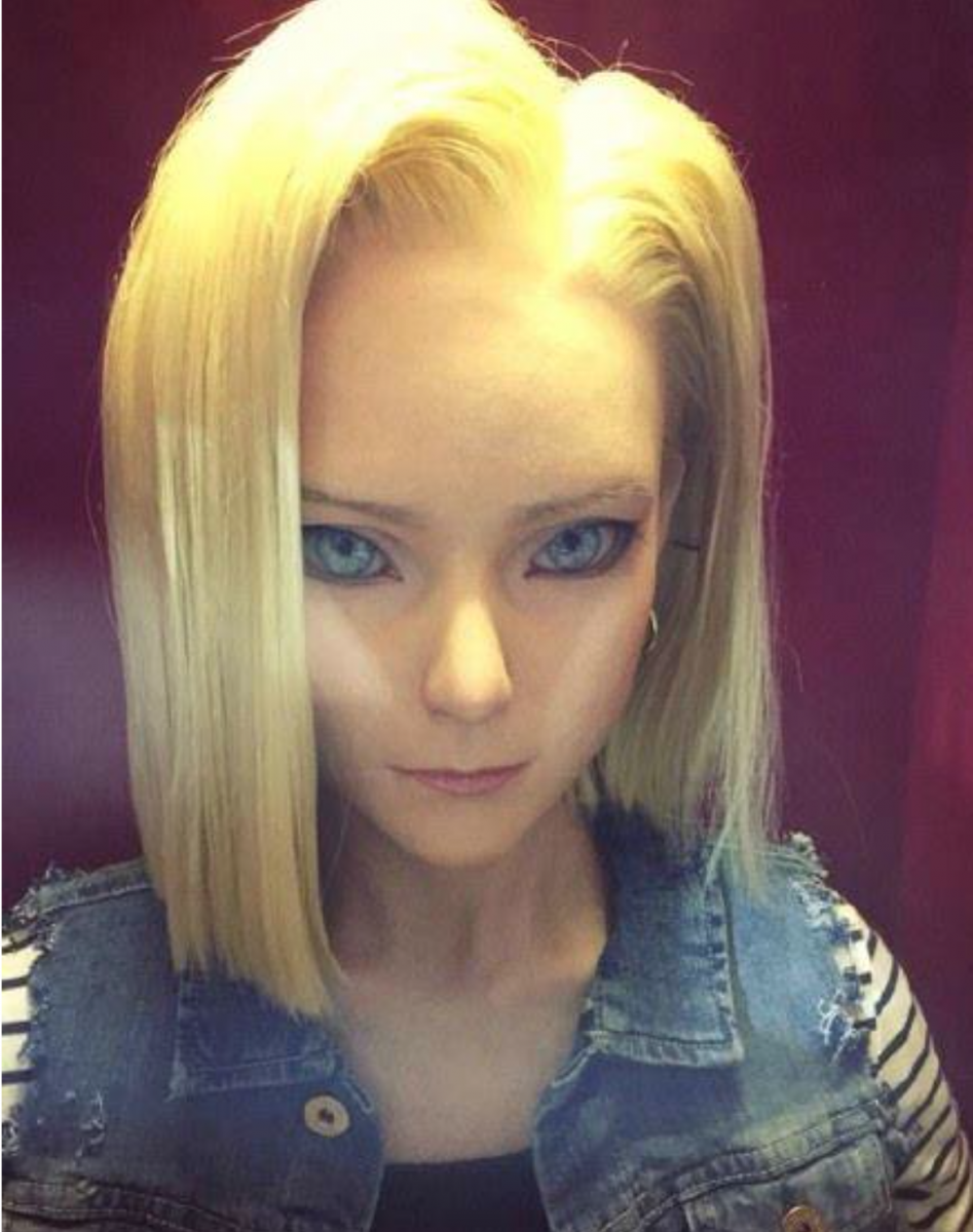 Real life android 18
