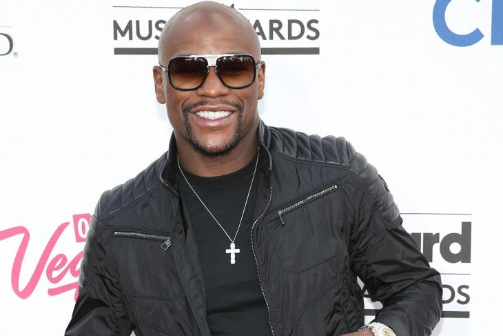 Mayweather en los music awards