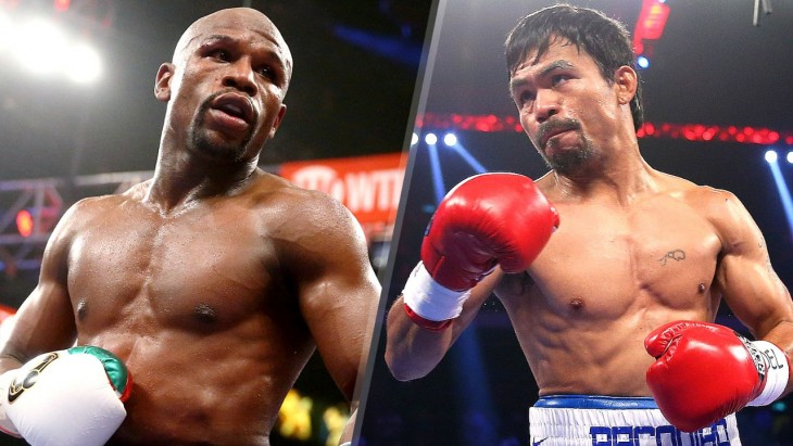 Mayweather contra pacquiao